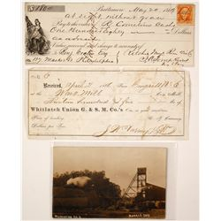 Misc. Mining Ephemera (Montana, Ohio, West Virginia)  #77513