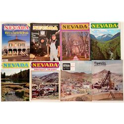 Magazines / Nevada Highways & Parks/ 8 items.  #109708