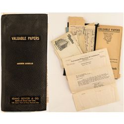 Collection of Documents from Arthur Loiselle, Montana  #50364