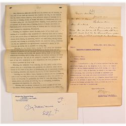 Group of Big Indian Mine Documents  #50339