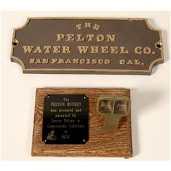 Pelton Wheel Collectible  #110728