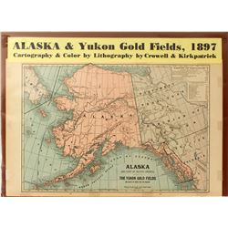 Map of Alaska & Yukon Gold Fields  #59348
