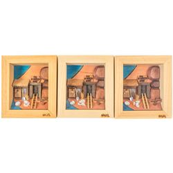 Big Bonanza Mine Shadow Boxes by David Nagel (3)  #58712