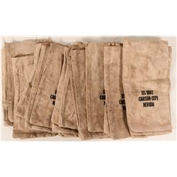 Carson City Mint Cloth Bags (30)  #110654