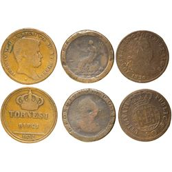 Three Early Coppers  #61050
