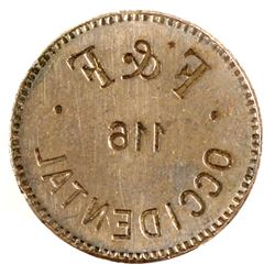 Occidental, WA Token Die  #85658