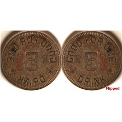 """Good For One Drink"" Token Die  #80038"