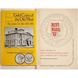 Carson City, NV Mint Books (2)  #63336
