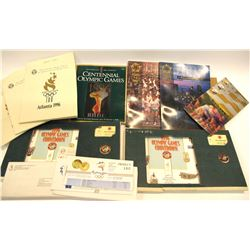 1996 Atlanta Olympic Pins and Ephemera  #571400