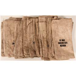 """Carson City Mint"" cloth bags (30)  #110653"