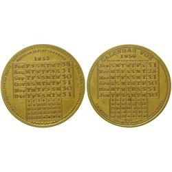 Calendar Medal  #100332