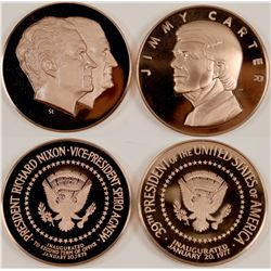 Nixon/Agnew Inauguration Medals (2)  #101729