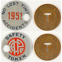Alabama Power Tokens  #58179
