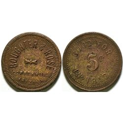 Boughter & Rose Token  #89021