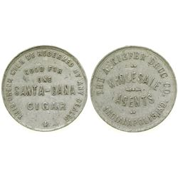 A. Kiefer Drug Co. Token  #101969
