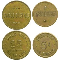 Carlo Diginio Tokens  #89047