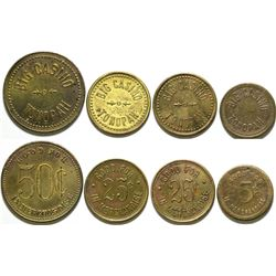 Big Casino Brothel Tokens (4)  #101846