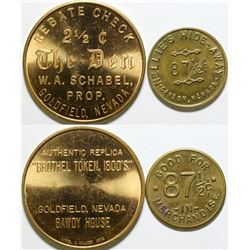 Two Replica Nevada Tokens  #101991