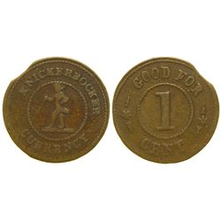 Knickerbocker Currency Token  #101963