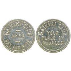 Waikiki Club Brothel Token  #104579
