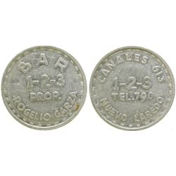 Bar 1-2-3 Brothel Token  #104580