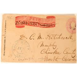 Pacific Union Express Co. Wine Related Cover  #110686