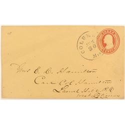 Postal Cover 1853 to 1855  #51627
