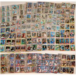Baseball Rookie Card Collection, c 1970's-1990  #110600