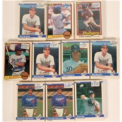 Fleer Dodgers Baseball Cards from the 1984 Season  #109896