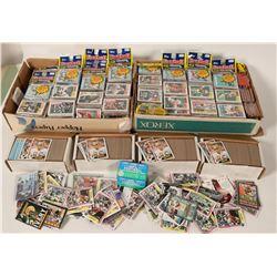 Football Card Grab Bag- 4 Topps Box Sets plus 5000 Cards  #110264