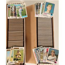 Topps 1973, 1974 Baseball Card Sets  #110562