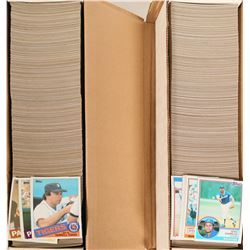 Topps 1985, 1983 Baseball card sets  #110559
