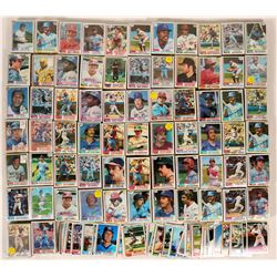 Topps Baseball Cards from the 1982 Season  #109892