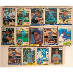 Topps Mariners Baseball Cards from the 1982 season  #110395