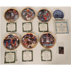 Six Upper Deck Sports Collector Plates- Michael Jordan Collection  #110252