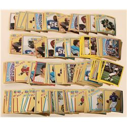 1882 Small Tops Sticker Football Cards  #109164