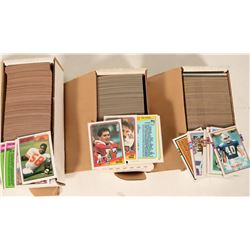 1987 / 1988 / 1989 Topps Football Sets  #109174
