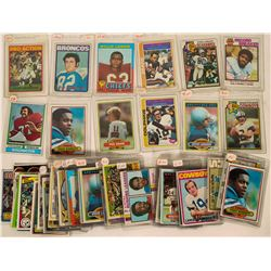 Misc. Football Card Group 1970-80 With Many All-Pros  #110247
