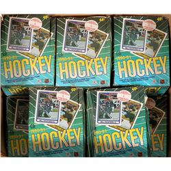 17 O-Pee-Chee 1990-91 NHL Hockey Box Sets  #110245
