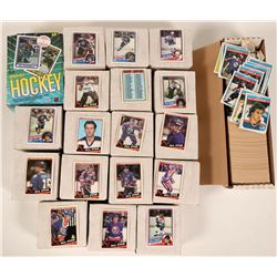 Hockey Card Box Sets- 18 In All Plus Picture Card Gum Packs  #110365