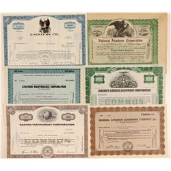 Aircraft Products & Maintenance Company Stock Certificates  #102560