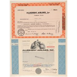 Allegheny Airlines Stocks  #101475