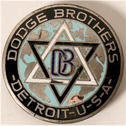 Early Dodge Brothers Truck Emblem  #110282