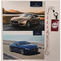 Maserati Ghibli and Quattroporte Catalogs  #101733