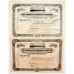 Pioneer Steamship Co Stocks (2)  #83371