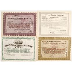 Eastern Navigation Stocks (4)  #83445