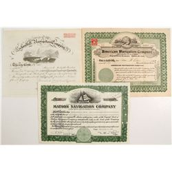 Navigation Stocks (3)  #83355