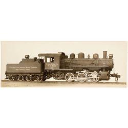 American Locomotive Co. Locomotive and Tender Photo  #61807