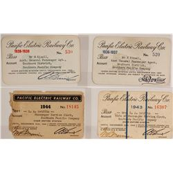 Pacific Electric Railway Co. Pass Group  #59923