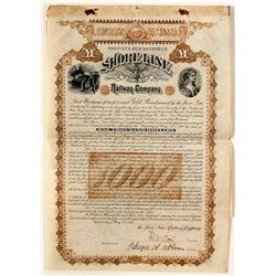 Shore Line Railway Company Gold Bond  #63934